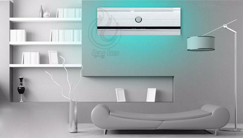 طراحی زیبایی کولر گازی سرد تی سی ال